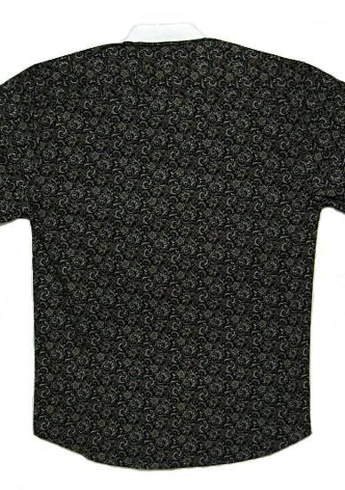 ワーメーカー/ブラック系 オールドスタイルシャツ MOS062